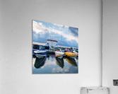 Dawn at the Marina  Acrylic Print
