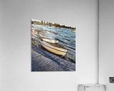 Boats At The Bay  Acrylic Print