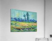 Two Poplars  Acrylic Print