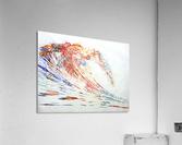 The Wave  Acrylic Print
