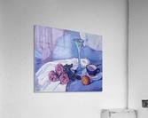 Still Life with Purple Roses  Acrylic Print
