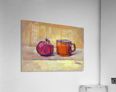 Pomegranate and Red Cup  Acrylic Print