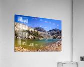 Lake Agnes CO - Glacial Lake   Impression acrylique