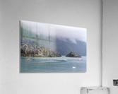 Alaska Scenery Pictures of Icebergs   Impression acrylique