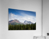 Photos Alaska Mountains  Impression acrylique