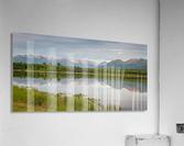 Photos Alaska Mountain  Impression acrylique