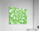 Greeny Floral  Acrylic Print