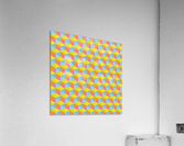 Hexagon Seamless Pattern Artwork  Acrylic Print