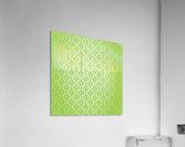 Islamic Green Art  Acrylic Print