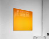 Orange Gradient Background  Acrylic Print