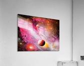 Fish galaxy  Acrylic Print