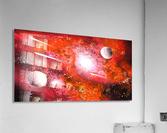 Marigold galaxy  Acrylic Print