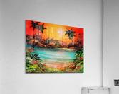 Jungle beach  Acrylic Print