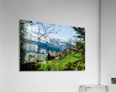 In The Alps  Acrylic Print