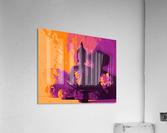Buddha Altar -- Sunset Colors  Acrylic Print
