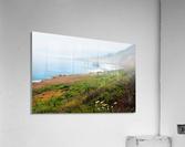 Coastal Views Fog  Acrylic Print