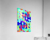 Pattern LXXIX  Acrylic Print