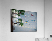 Macaw family  Acrylic Print