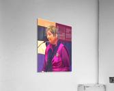 Town Meeting Nancy  Acrylic Print