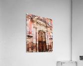 México La Casa del Mayorazgo San Miguel de Allende  Impression acrylique