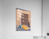 Cuba Wheelbarrow Worker  Acrylic Print