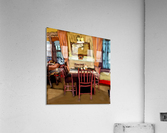 The Hedges Dining Room  Acrylic Print