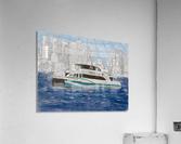 MBTA Hingham-Hull Ferry  Acrylic Print