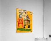 Klimt inspiration. Clyde O.  Acrylic Print