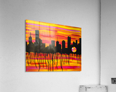 Melting City. Maggie Z  Acrylic Print