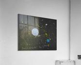 Moon and Stars. David R  Acrylic Print
