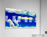 Follow the rainbow   Impression acrylique