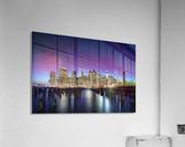 New York Sky Line  Impression acrylique