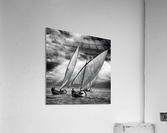 Sailboats and Light  Acrylic Print