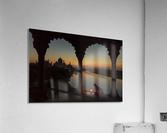 Illuminating the Taj  Acrylic Print
