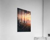 Dubai's Fiery sunset  Acrylic Print