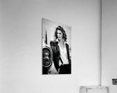 Jamie and the T-Bird  Acrylic Print
