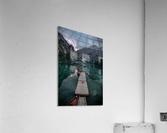 Braies reflections  Acrylic Print