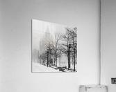 Gooderham in Winter  Acrylic Print