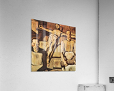 Mother by Albin Egger-Lienz  Acrylic Print