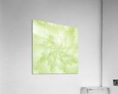 Green Snowflake  Acrylic Print