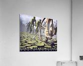 Paris Roubaix retro cycling poster  Acrylic Print