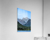Peaks of Strathcona park  Impression acrylique