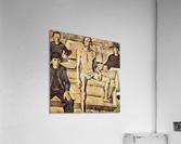 Resurrection of Christ by Albin Egger-Lienz  Acrylic Print