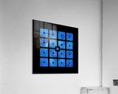 Elora de sous - squares of sea  Acrylic Print