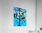 Free Spirit Tree. Molly H  Acrylic Print