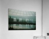 Lac brumeux  Impression acrylique
