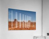 Monument Valley  Impression acrylique
