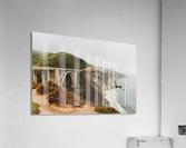 Bixby Bridge California  Impression acrylique