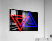 Halimessa - connected triangles  Acrylic Print