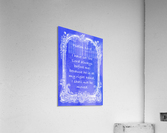 Psalm 16 8 7BL  Acrylic Print